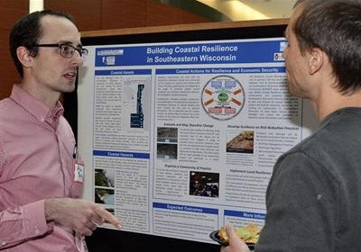 Poster Session Demonstrates Scope and Diversity of UW-Madison's Water Explorations