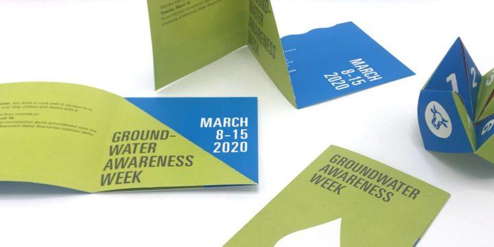 Groundwater Awareness Week communication piece wins award